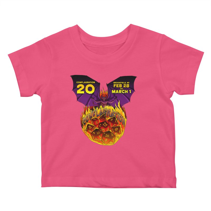 Conflagration 20 Official Design Kids Baby T-Shirt by Joe Abboreno's Artist Shop