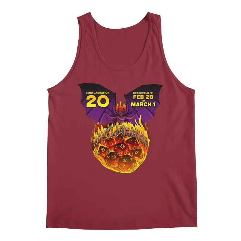 Conflagration 20 Official Design Men's Regular Tank by Joe Abboreno's Artist Shop