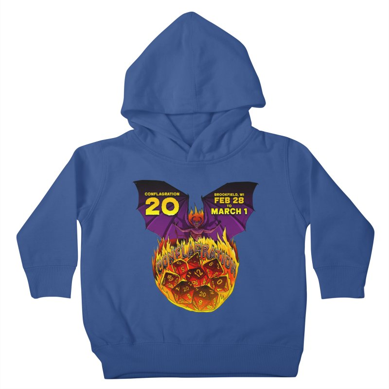 Conflagration 20 Official Design Kids Toddler Pullover Hoody by Joe Abboreno's Artist Shop