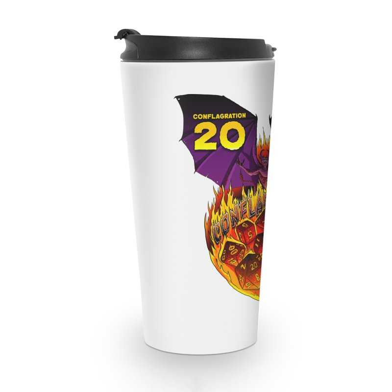 Conflagration 20 Official Design Accessories Travel Mug by Joe Abboreno's Artist Shop