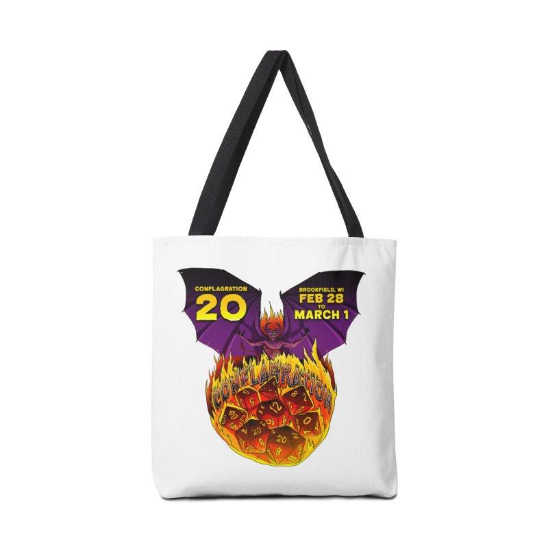 Conflagration 20 Official Design Accessories Tote Bag Bag by Joe Abboreno's Artist Shop