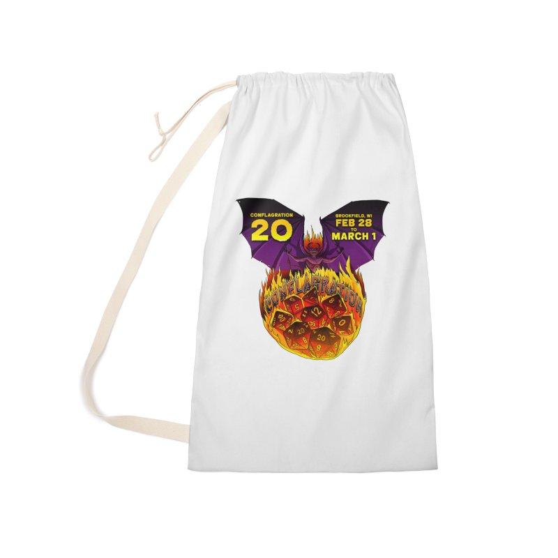 Conflagration 20 Official Design Accessories Bag by Joe Abboreno's Artist Shop