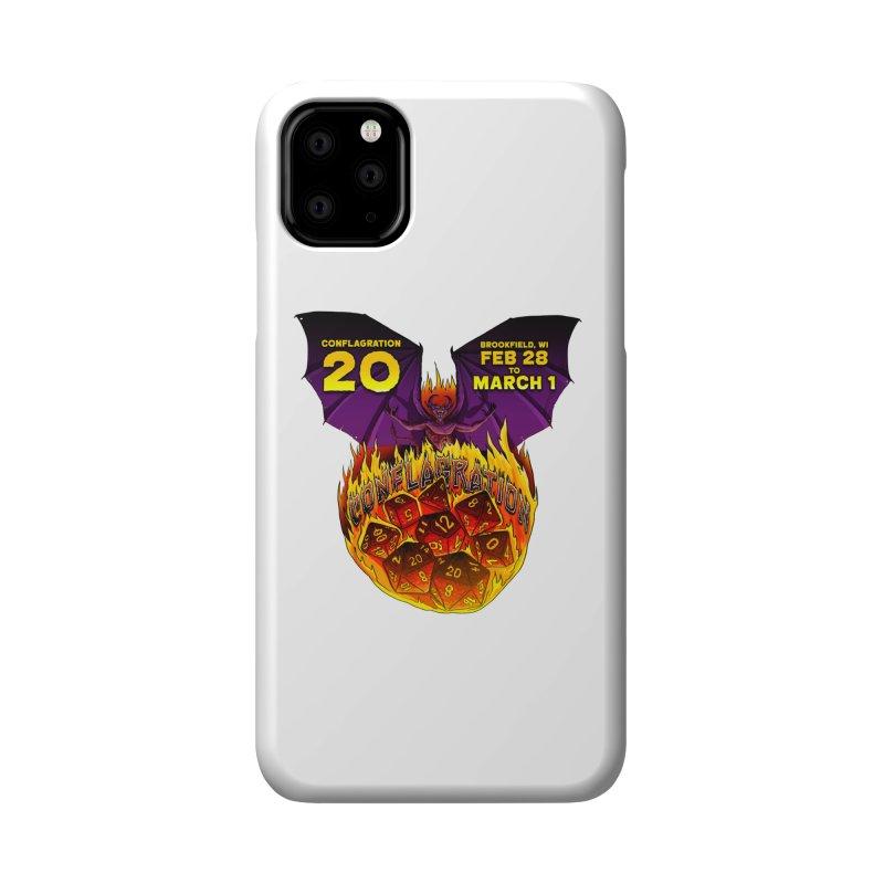 Conflagration 20 Official Design Accessories Phone Case by Joe Abboreno's Artist Shop