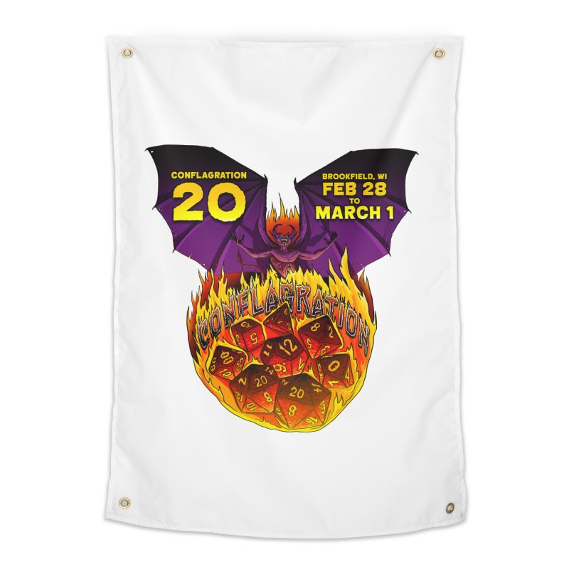 Conflagration 20 Official Design Home Tapestry by Joe Abboreno's Artist Shop