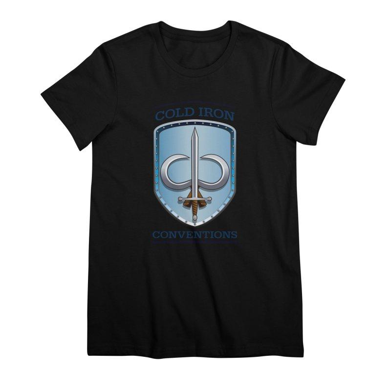 Cold Iron Conventions Women's Premium T-Shirt by Joe Abboreno's Artist Shop