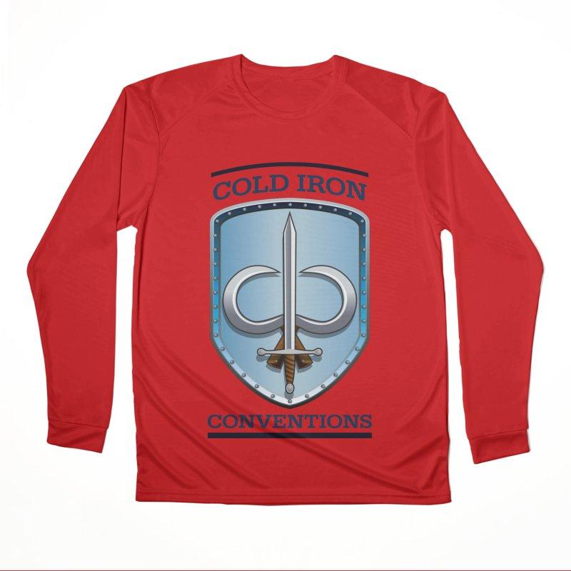 Cold Iron Conventions Women's Performance Unisex Longsleeve T-Shirt by Joe Abboreno's Artist Shop