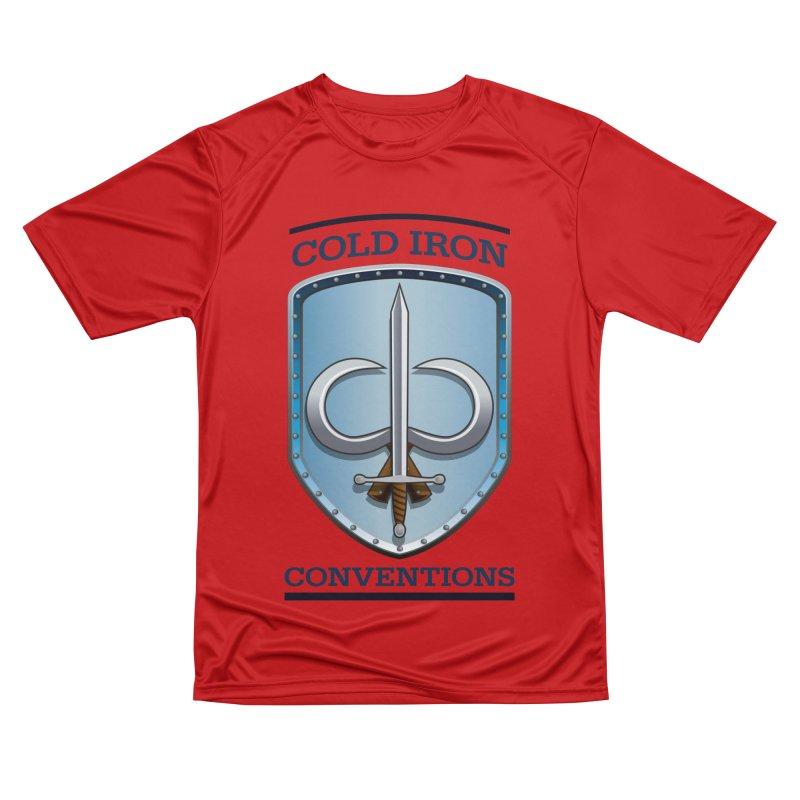 Cold Iron Conventions Men's Performance T-Shirt by Joe Abboreno's Artist Shop