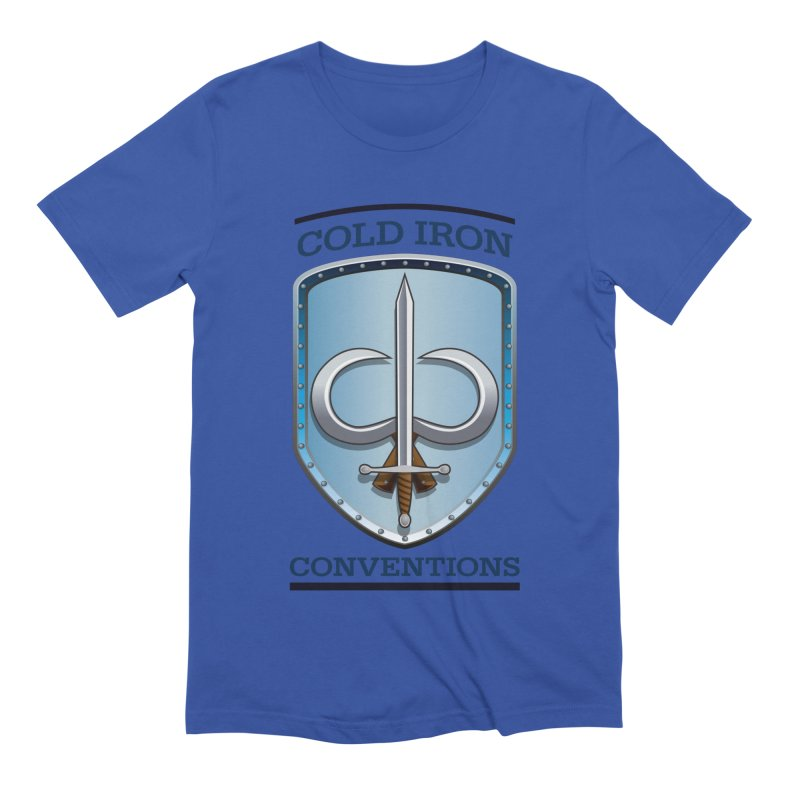 Cold Iron Conventions Men's Extra Soft T-Shirt by Joe Abboreno's Artist Shop