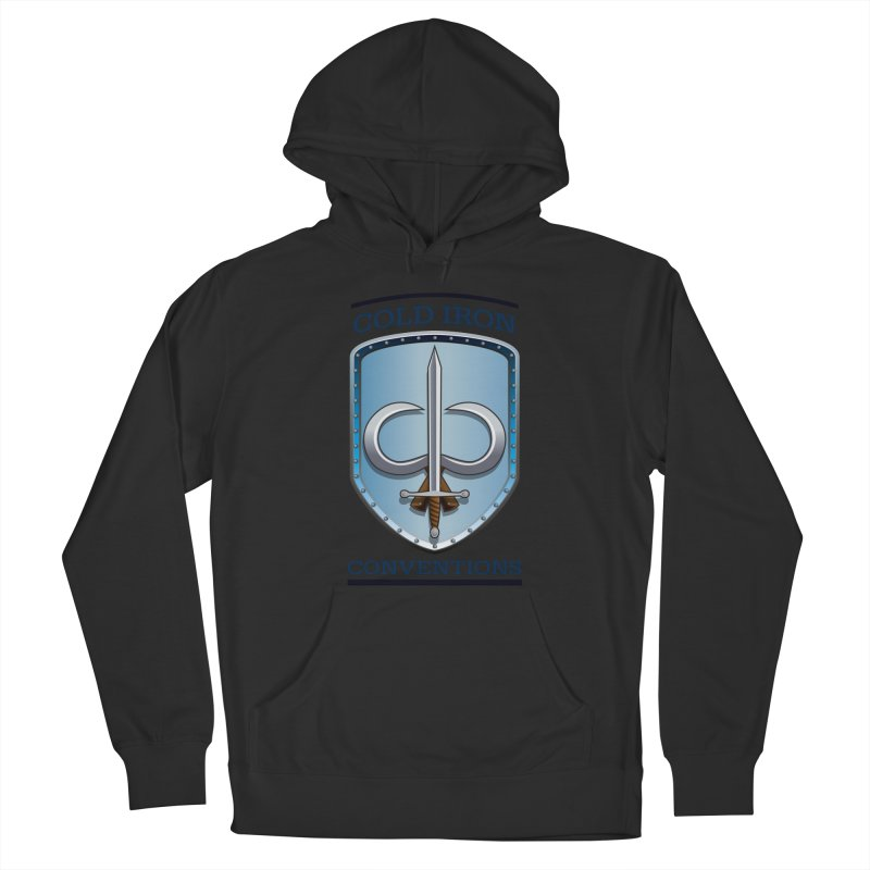 Cold Iron Conventions Women's French Terry Pullover Hoody by Joe Abboreno's Artist Shop