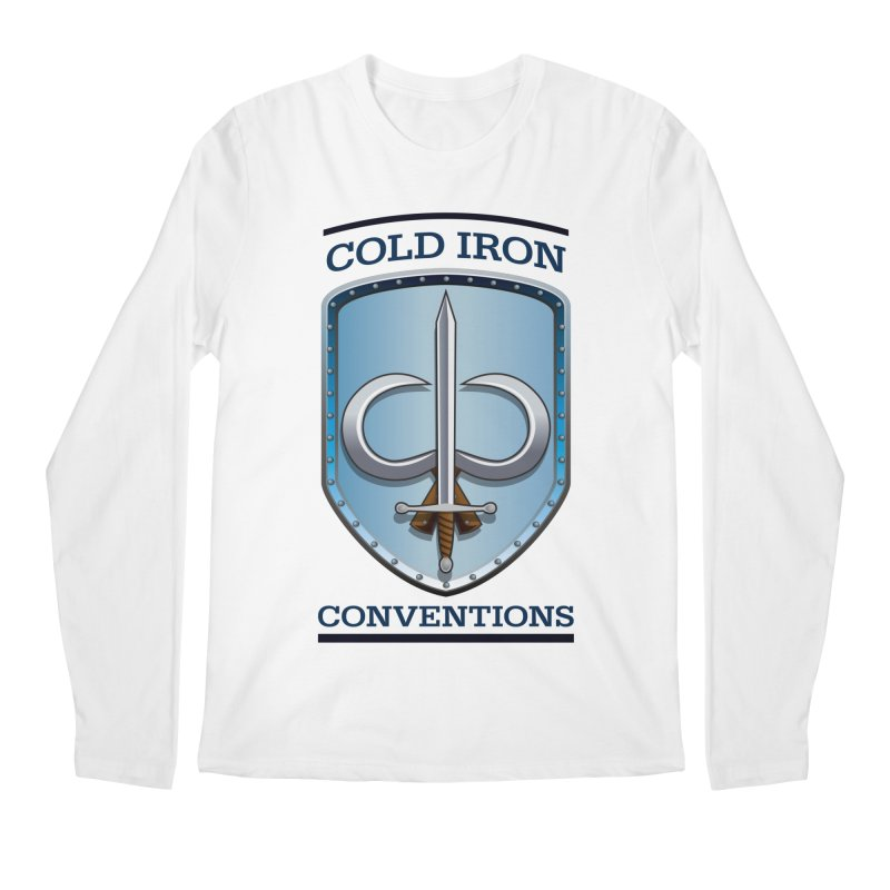Cold Iron Conventions Men's Regular Longsleeve T-Shirt by Joe Abboreno's Artist Shop