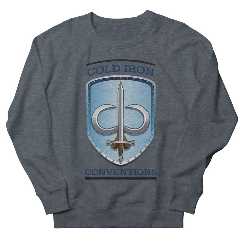 Cold Iron Conventions Women's French Terry Sweatshirt by Joe Abboreno's Artist Shop