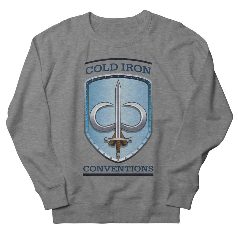 Cold Iron Conventions Men's French Terry Sweatshirt by Joe Abboreno's Artist Shop