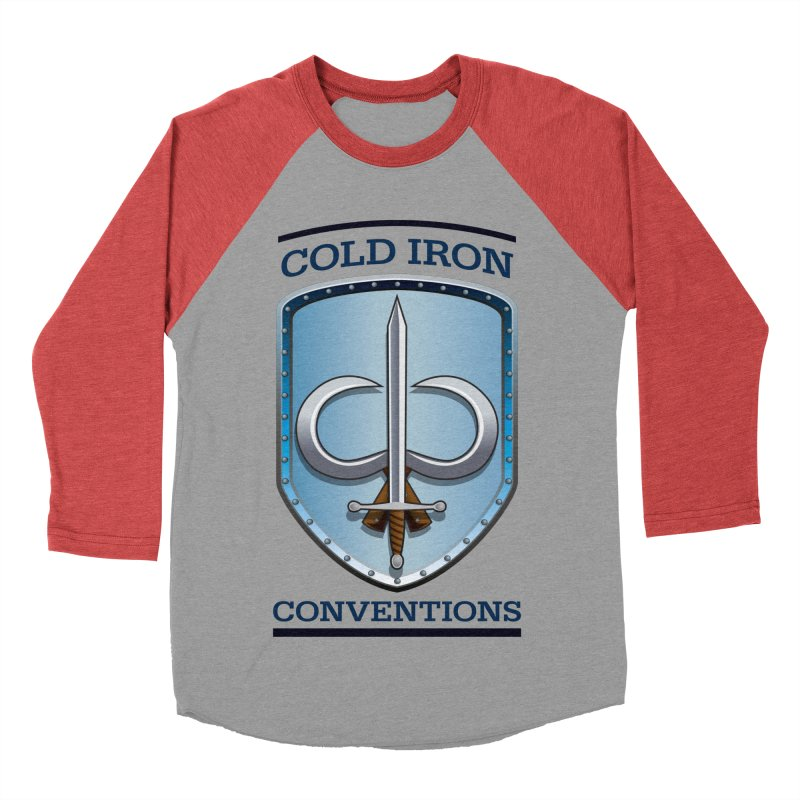 Cold Iron Conventions Women's Baseball Triblend Longsleeve T-Shirt by Joe Abboreno's Artist Shop