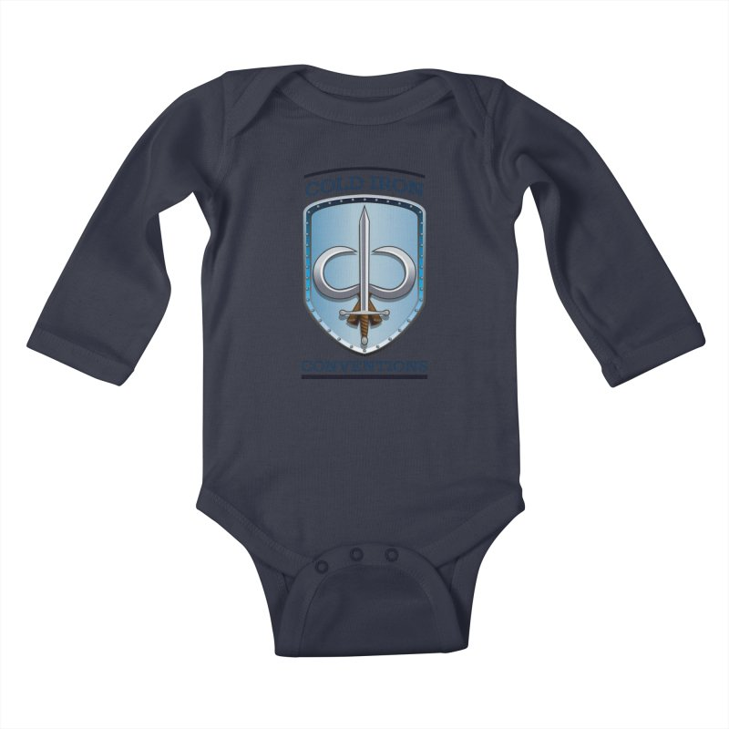 Cold Iron Conventions Kids Baby Longsleeve Bodysuit by Joe Abboreno's Artist Shop