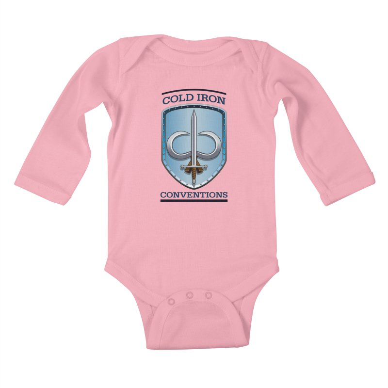 Cold Iron Conventions Kids Baby Longsleeve Bodysuit by Joe Abboreno's Artist Shop