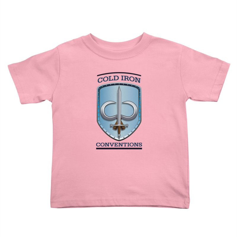 Cold Iron Conventions Kids Toddler T-Shirt by Joe Abboreno's Artist Shop
