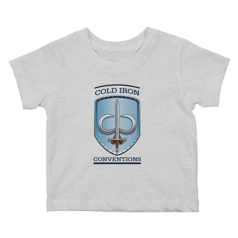 Cold Iron Conventions Kids Baby T-Shirt by Joe Abboreno's Artist Shop