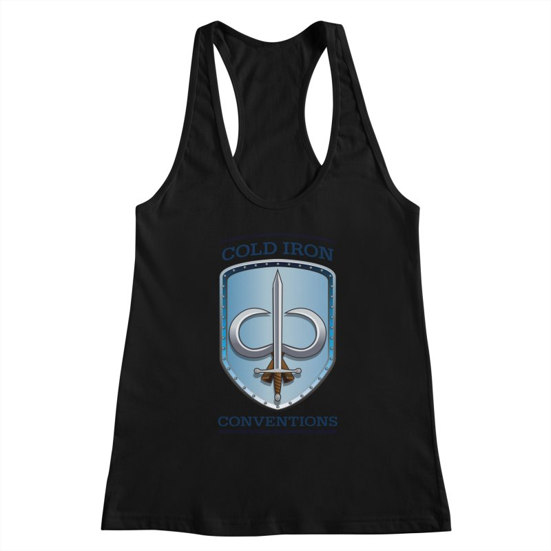 Cold Iron Conventions Women's Racerback Tank by Joe Abboreno's Artist Shop