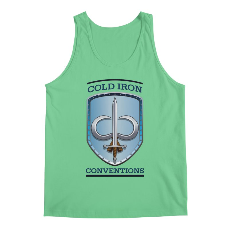 Cold Iron Conventions Men's Regular Tank by Joe Abboreno's Artist Shop