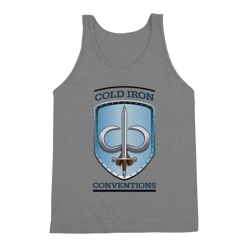 Cold Iron Conventions Men's Triblend Tank by Joe Abboreno's Artist Shop
