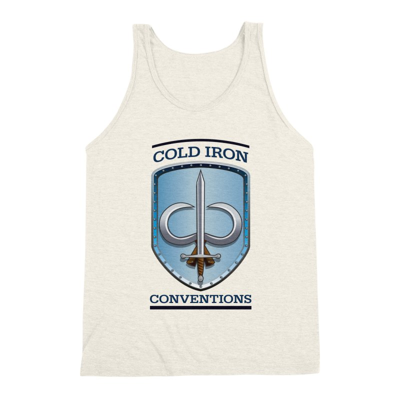 Cold Iron Conventions Men's Triblend Tank by Joe Abboreno's Artist Shop