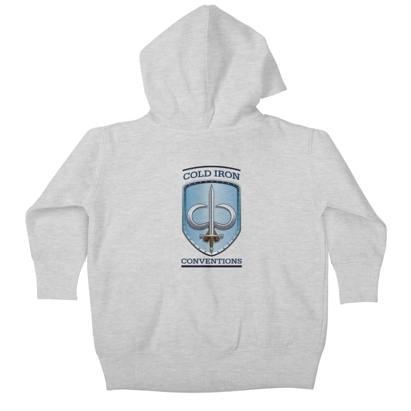 Cold Iron Conventions Kids Baby Zip-Up Hoody by Joe Abboreno's Artist Shop