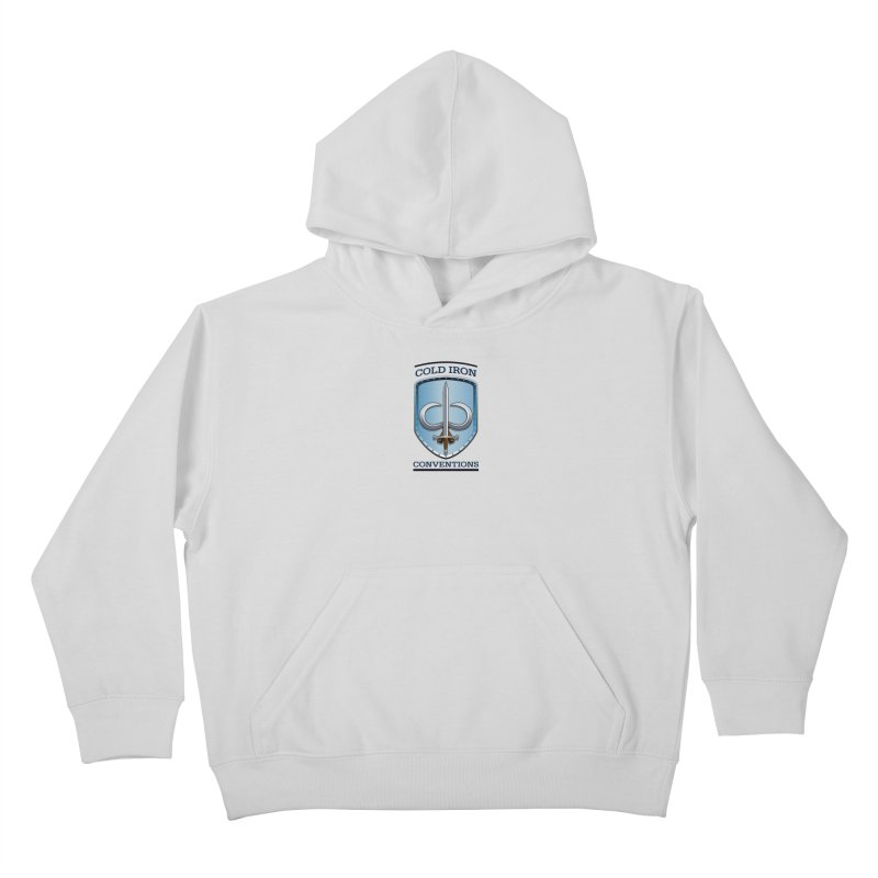 Cold Iron Conventions Kids Pullover Hoody by Joe Abboreno's Artist Shop