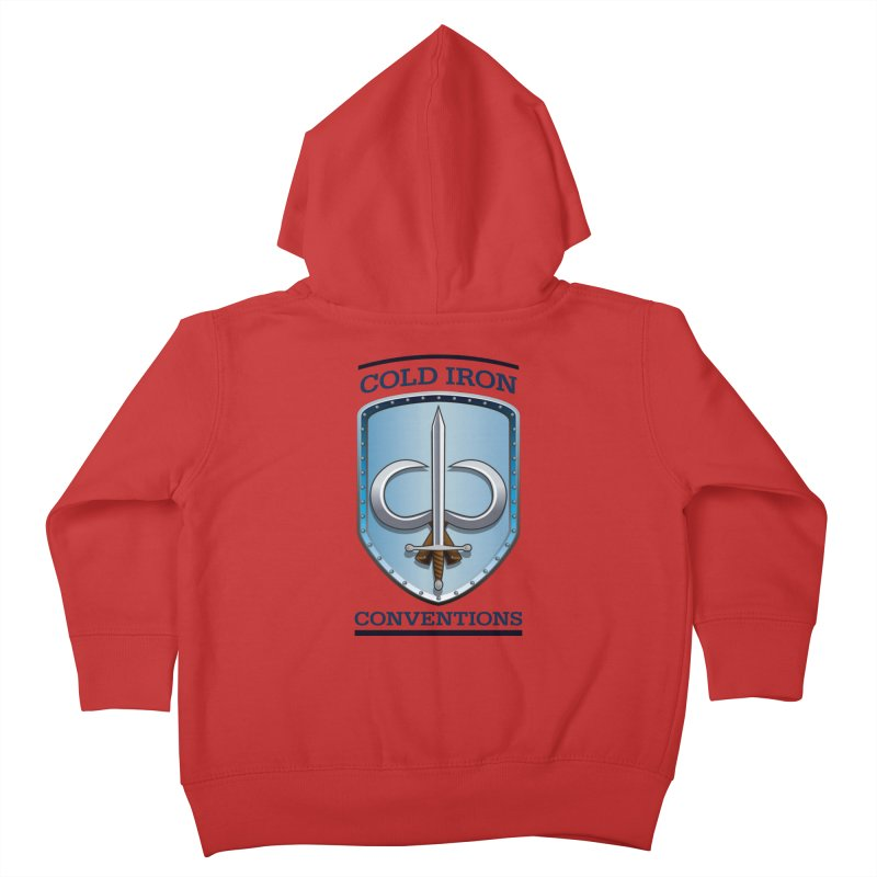 Cold Iron Conventions Kids Toddler Zip-Up Hoody by Joe Abboreno's Artist Shop