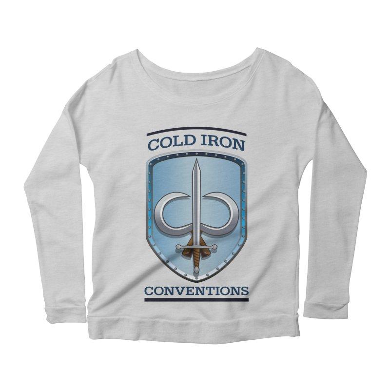 Cold Iron Conventions Women's Scoop Neck Longsleeve T-Shirt by Joe Abboreno's Artist Shop