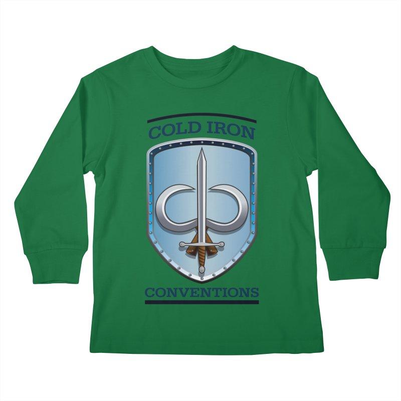 Cold Iron Conventions Kids Longsleeve T-Shirt by Joe Abboreno's Artist Shop