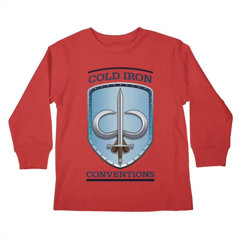 Cold Iron Conventions Kids Longsleeve T-Shirt by Joe Abboreno's Artist Shop