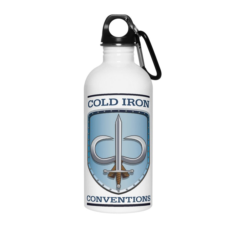 Cold Iron Conventions Accessories Water Bottle by Joe Abboreno's Artist Shop