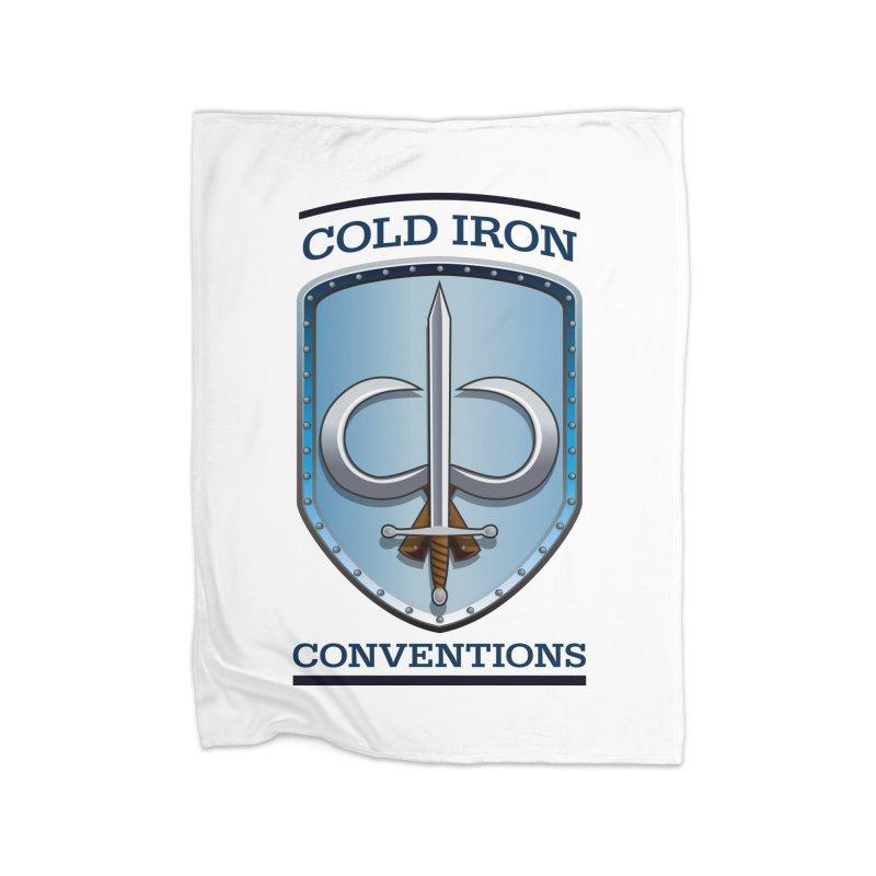 Cold Iron Conventions Home Fleece Blanket Blanket by Joe Abboreno's Artist Shop