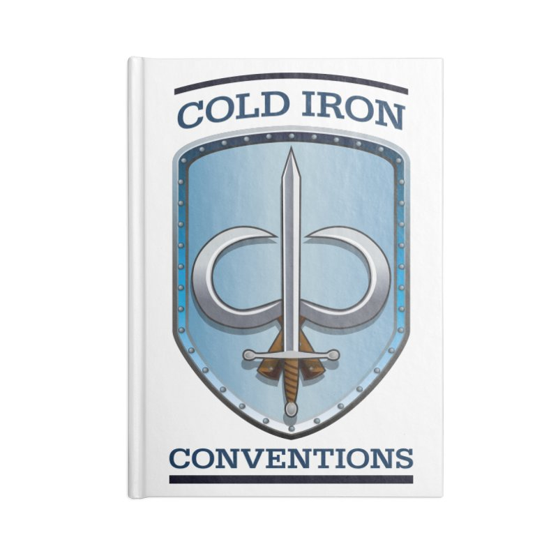 Cold Iron Conventions Accessories Lined Journal Notebook by Joe Abboreno's Artist Shop