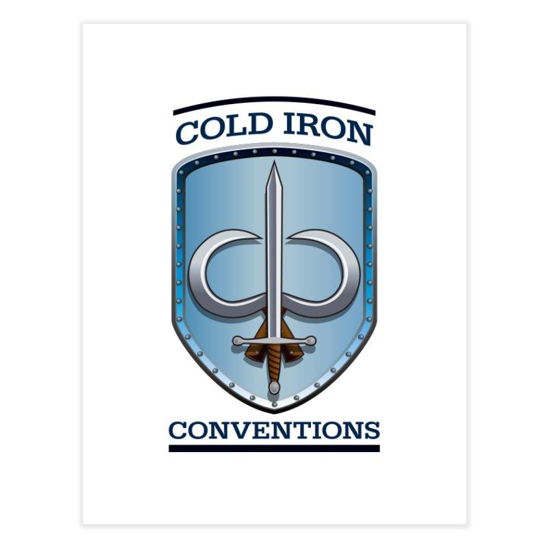 Cold Iron Conventions Home Fine Art Print by Joe Abboreno's Artist Shop