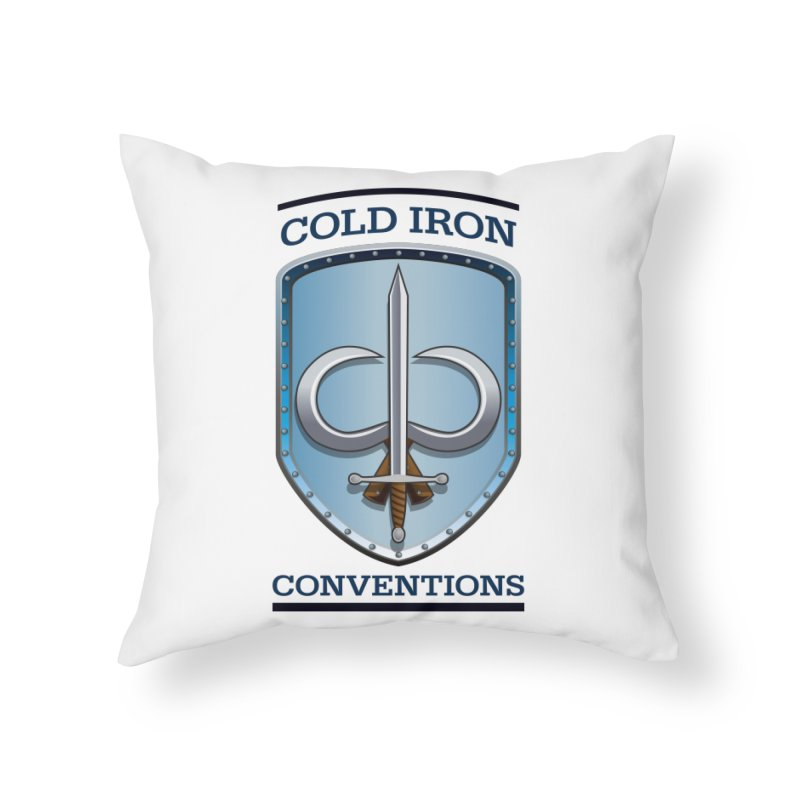 Cold Iron Conventions Home Throw Pillow by Joe Abboreno's Artist Shop