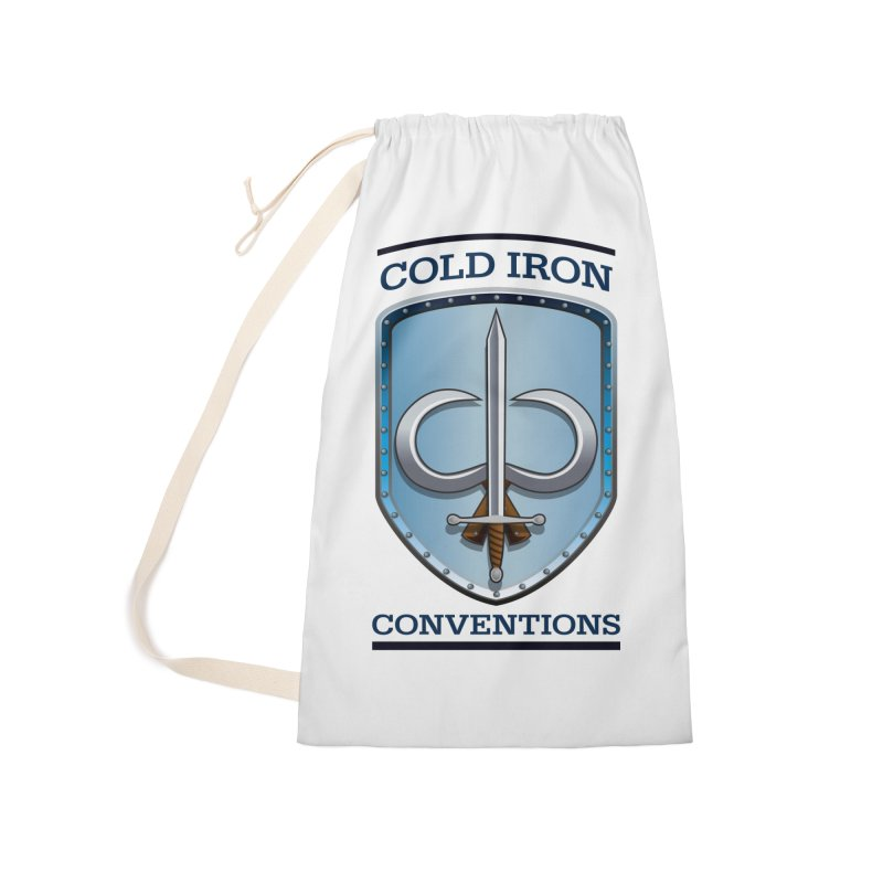 Cold Iron Conventions Accessories Laundry Bag Bag by Joe Abboreno's Artist Shop