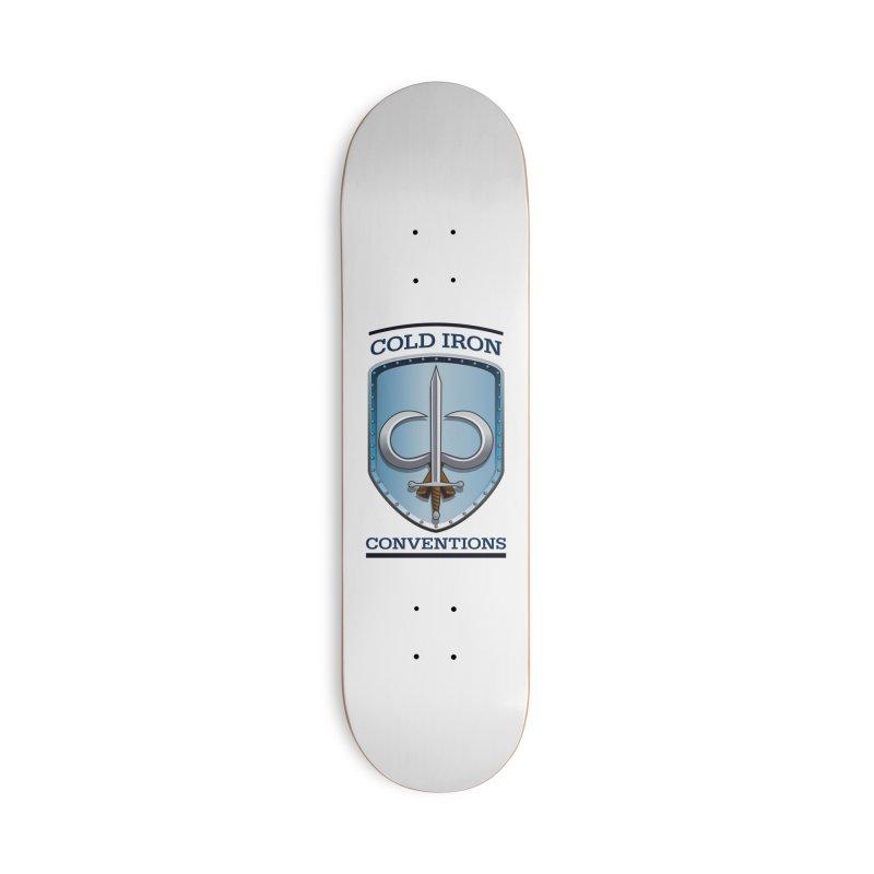 Cold Iron Conventions Accessories Skateboard by Joe Abboreno's Artist Shop