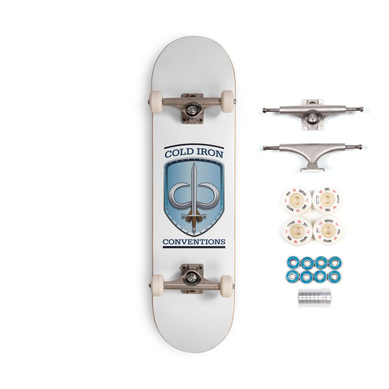 Cold Iron Conventions Accessories Complete - Premium Skateboard by Joe Abboreno's Artist Shop