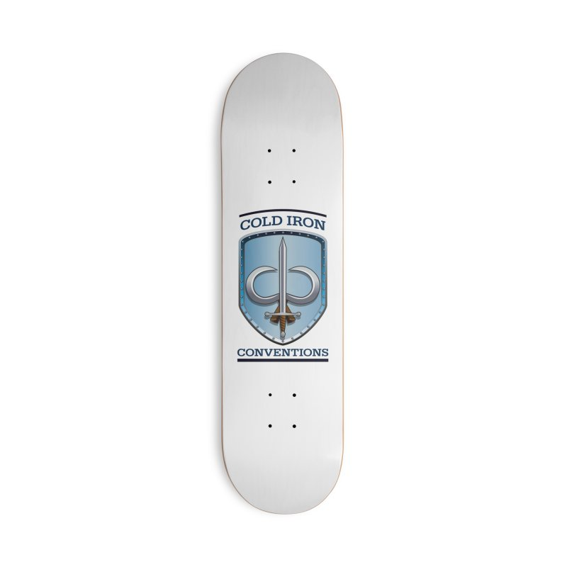Cold Iron Conventions Accessories Deck Only Skateboard by Joe Abboreno's Artist Shop