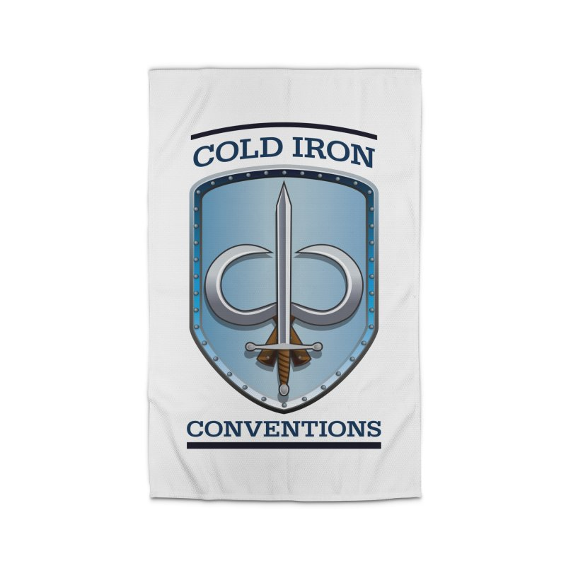 Cold Iron Conventions Home Rug by Joe Abboreno's Artist Shop