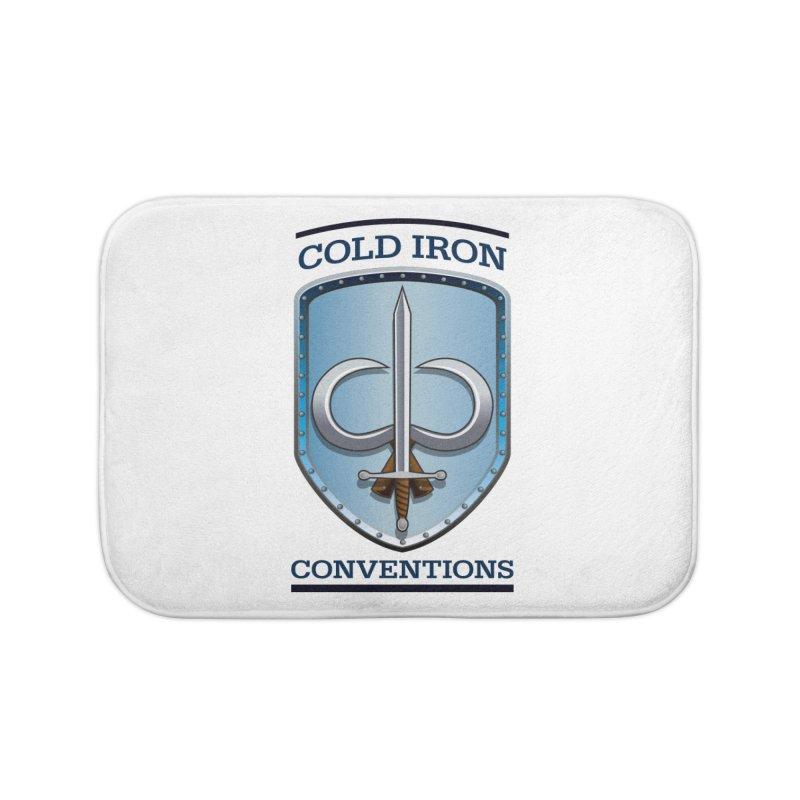 Cold Iron Conventions Home Bath Mat by Joe Abboreno's Artist Shop