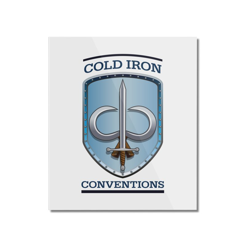 Cold Iron Conventions Home Mounted Acrylic Print by Joe Abboreno's Artist Shop