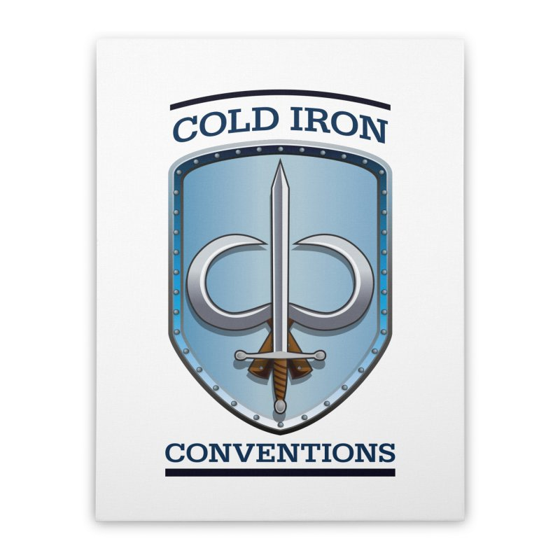 Cold Iron Conventions Home Stretched Canvas by Joe Abboreno's Artist Shop