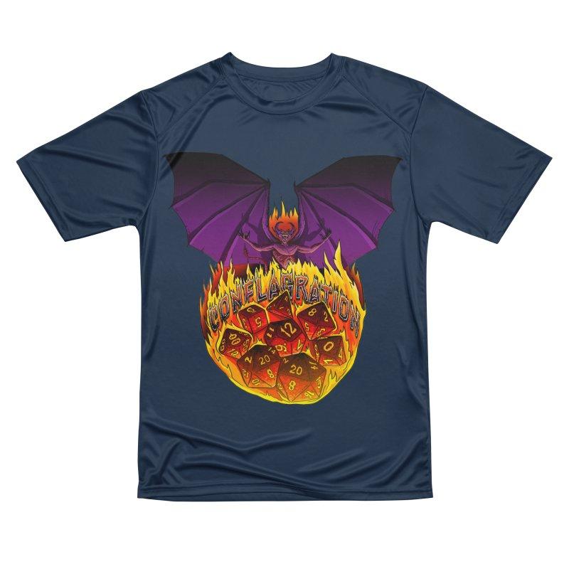 Conflagration -Text Free Women's Performance Unisex T-Shirt by Joe Abboreno's Artist Shop
