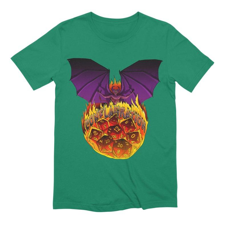 Conflagration -Text Free Men's Extra Soft T-Shirt by Joe Abboreno's Artist Shop
