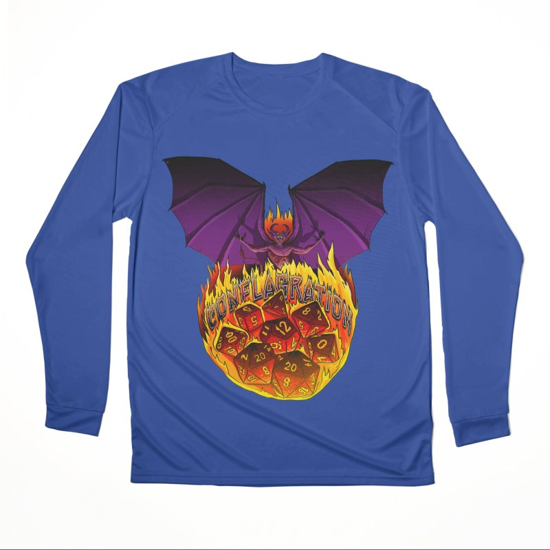 Conflagration -Text Free Women's Performance Unisex Longsleeve T-Shirt by Joe Abboreno's Artist Shop