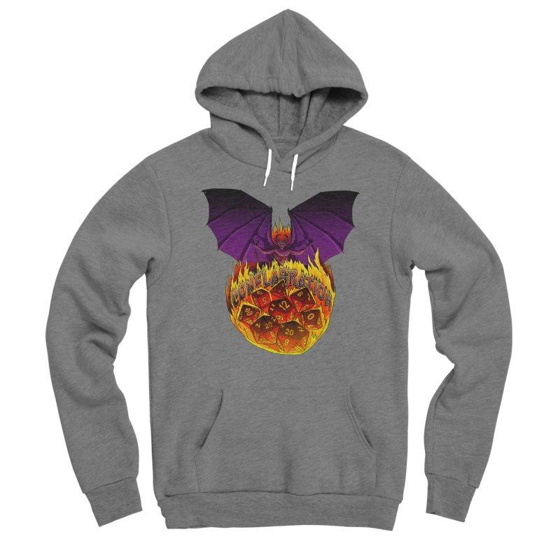 Conflagration -Text Free Women's Sponge Fleece Pullover Hoody by Joe Abboreno's Artist Shop