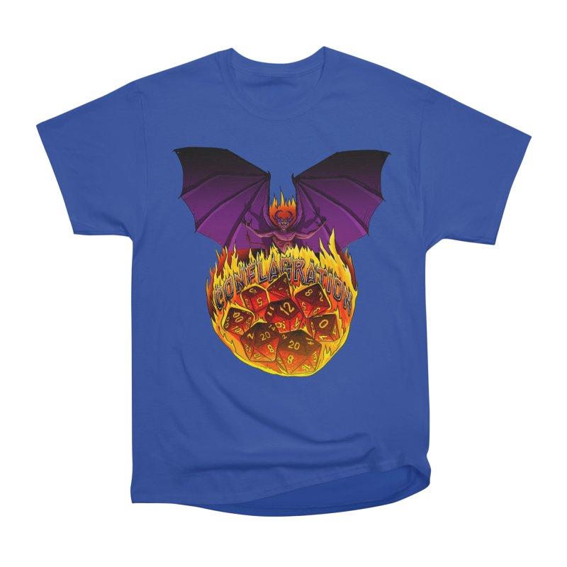 Conflagration -Text Free Men's Heavyweight T-Shirt by Joe Abboreno's Artist Shop