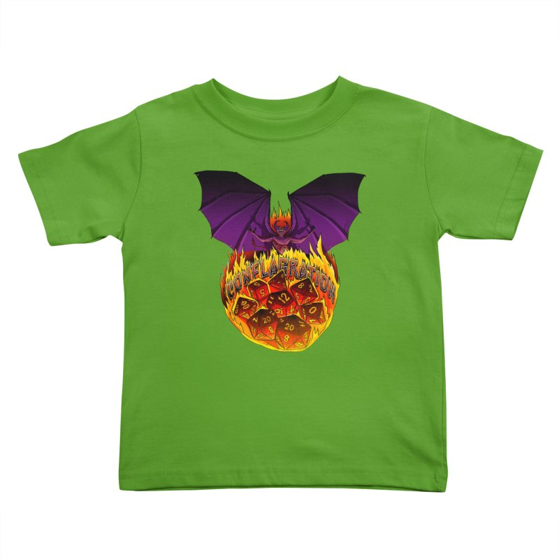 Conflagration -Text Free Kids Toddler T-Shirt by Joe Abboreno's Artist Shop